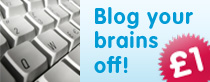 blog your brains off