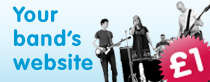 your band's website