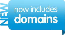NEW now includes domains